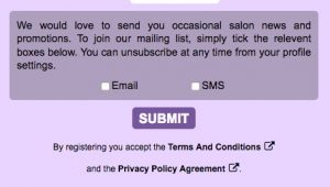 Guide to data protection for Salons