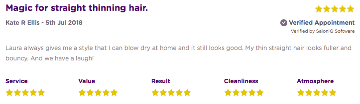 salonspy Online Reviews with Salon IQ